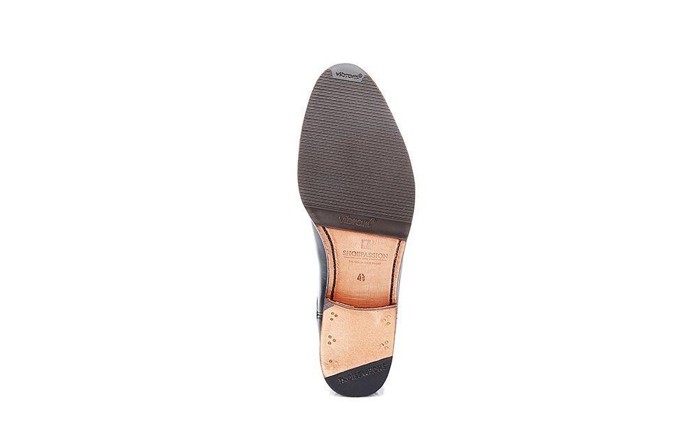 Damen SHOEPASSION No. 2303 Stiefelette, Rahmengenäht und von Hand gefertigt in Spanien schwarz | 04251194706902