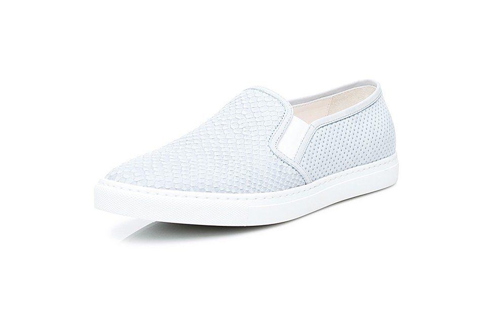SHOEPASSION No 91 WS Sneaker, 100 % italienische Handarbeit online kaufen  hellblau-hellbraun