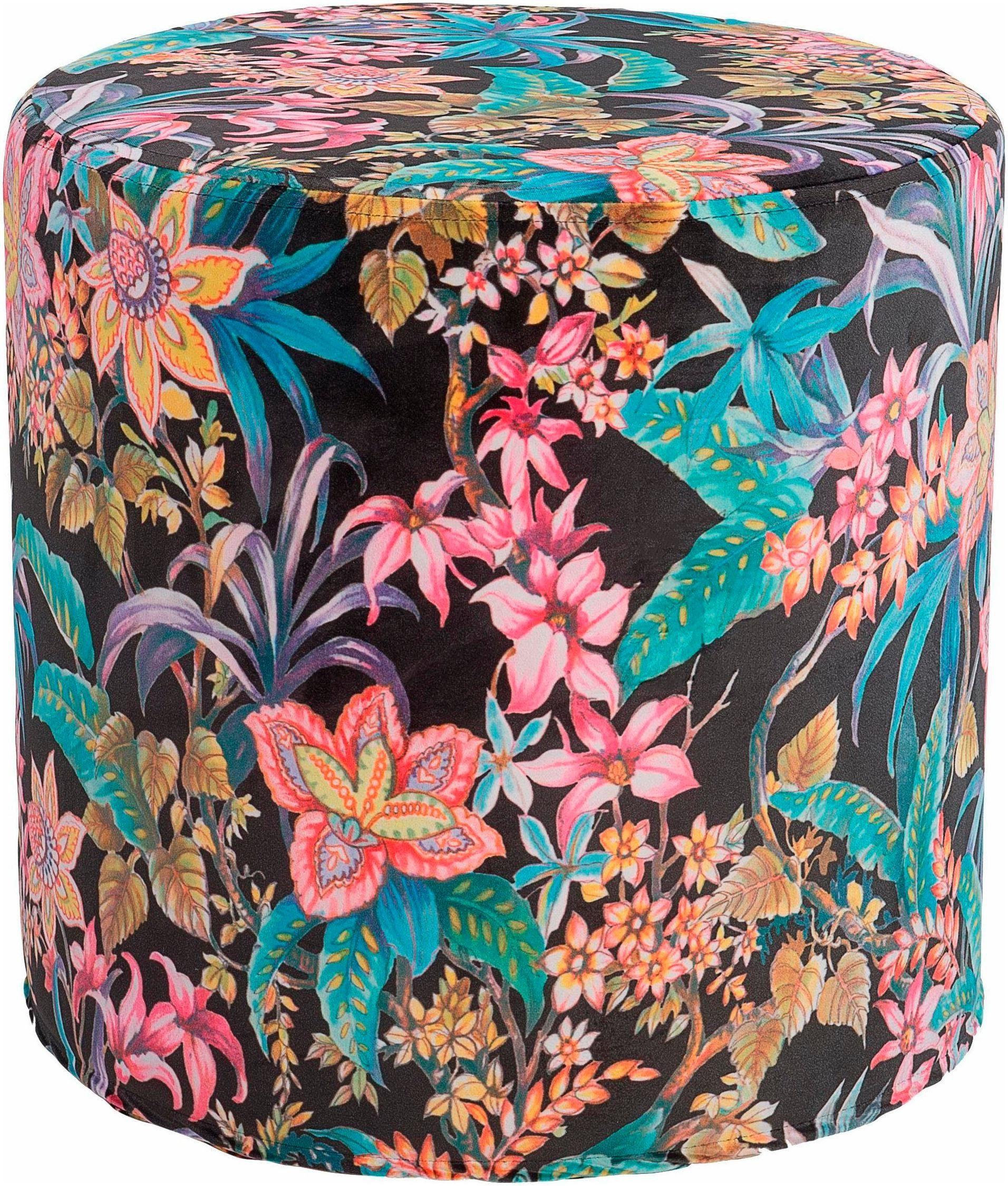 Hock Hocker »Colourful Velvet« ø 45/45 cm