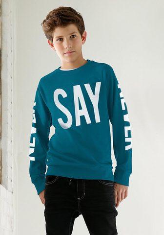 ARIZONA Sportinio stiliaus megztinis »NEVER SA...