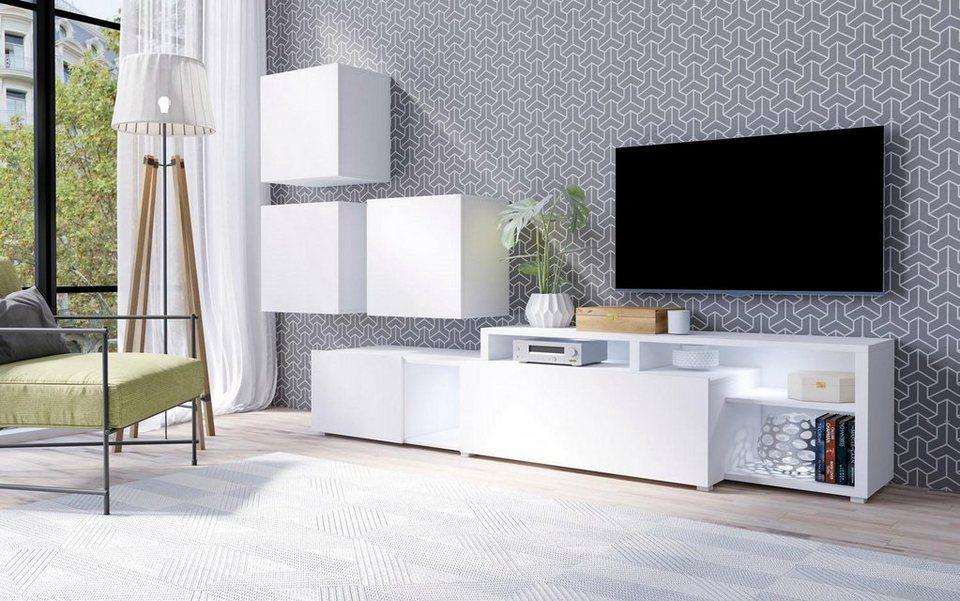 Wohnwand »Vento« (4-tlg.) online kaufen | OTTO