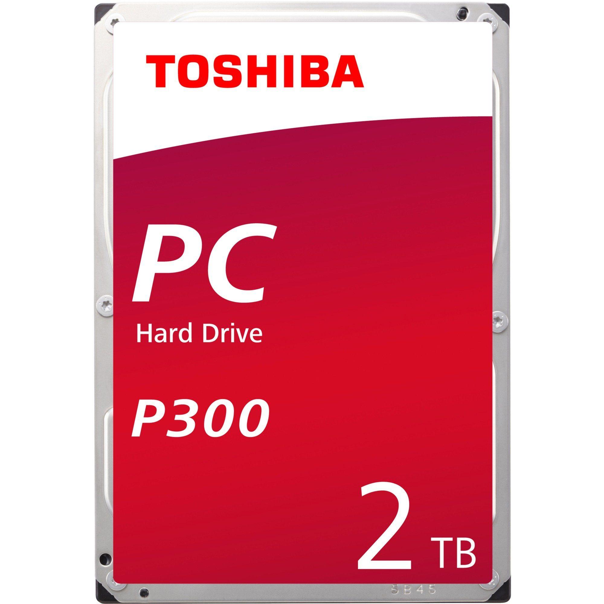 Toshiba Festplatte »HDWD120UZSVA 2TB, (SATA 600, P300, Bulk)«