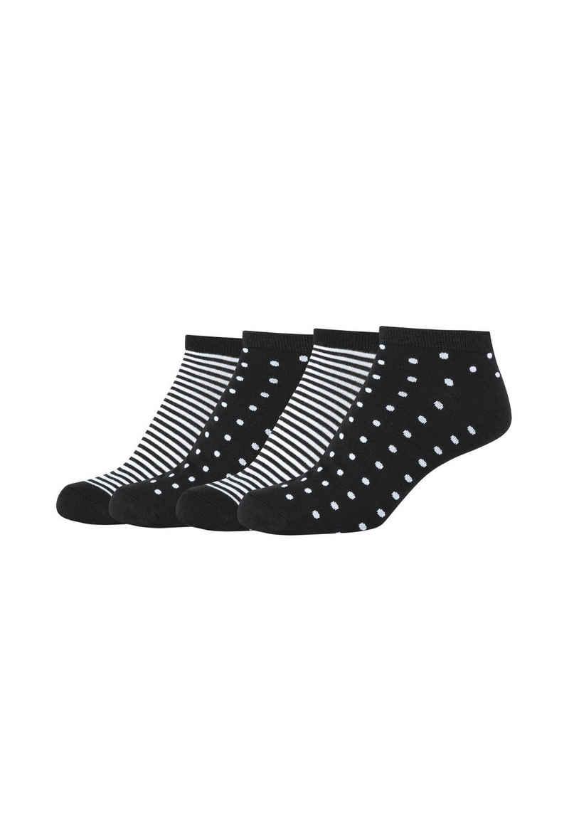 Camano Socken (4-Paar) mit weichem Komfortbund