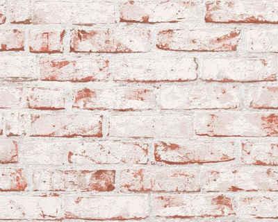 living walls Bordüre »pop.up Panel 3D«, Steinoptik, Backstein in Vintage Optik, selbstklebend