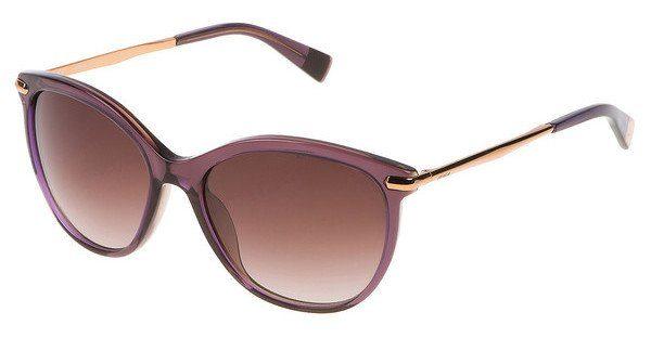 Furla Damen Sonnenbrille » SU4961«, braun, 04AP - braun/lila