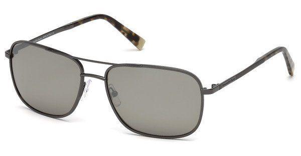 Ermenegildo Zegna Herren Sonnenbrille » EZ0079«, grau, 08C - grau/grau