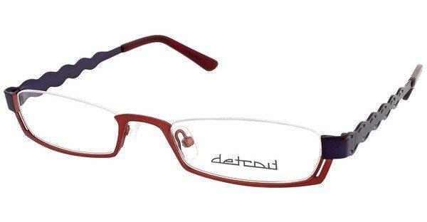Detroit Brille » UN583«, rot, 01 - rot