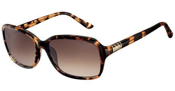 Elle Creation Damen Sonnenbrille » EL14836«, braun, HV - braun