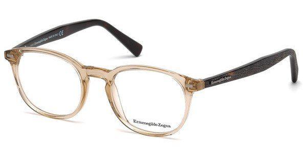 Ermenegildo Zegna Herren Brille » EZ5070«, braun, 052 - braun