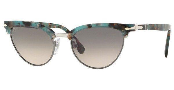 PERSOL Persol Damen Sonnenbrille » PO3198S«, blau, 107032 - blau/grau