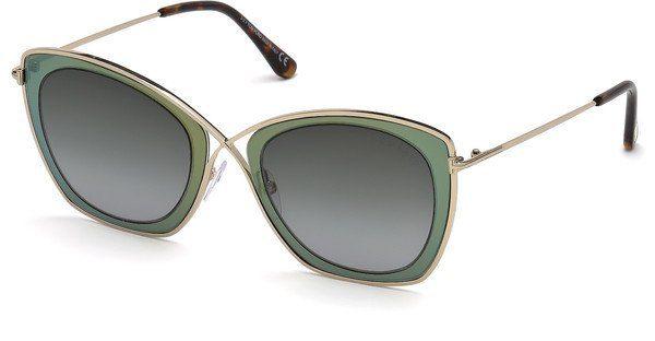 Tom Ford Damen Sonnenbrille » FT0605«, grau, 20B - grau/grau