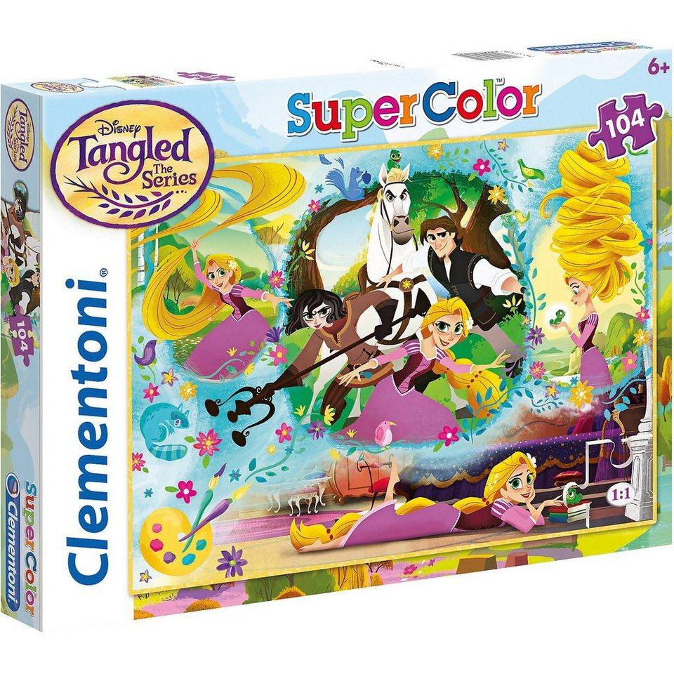 Clementoni® Puzzle 104 Teile - Rapunzel kaufen