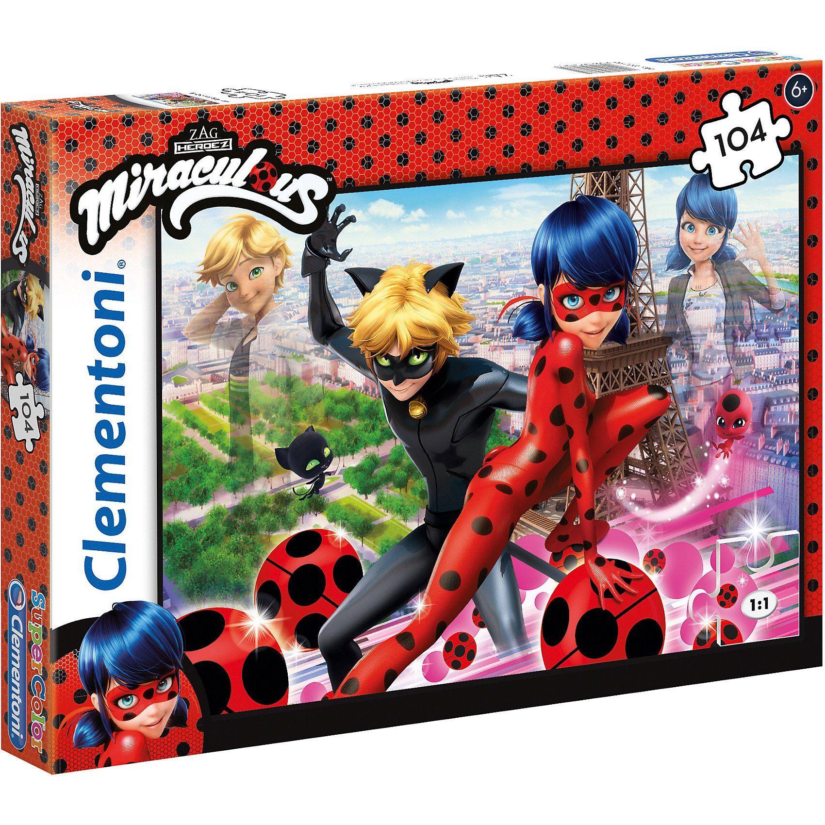 Clementoni® Puzzle 104 Teile - Miraculous