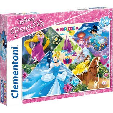 Clementoni® Puzzle 104 Teile - Disney Princess