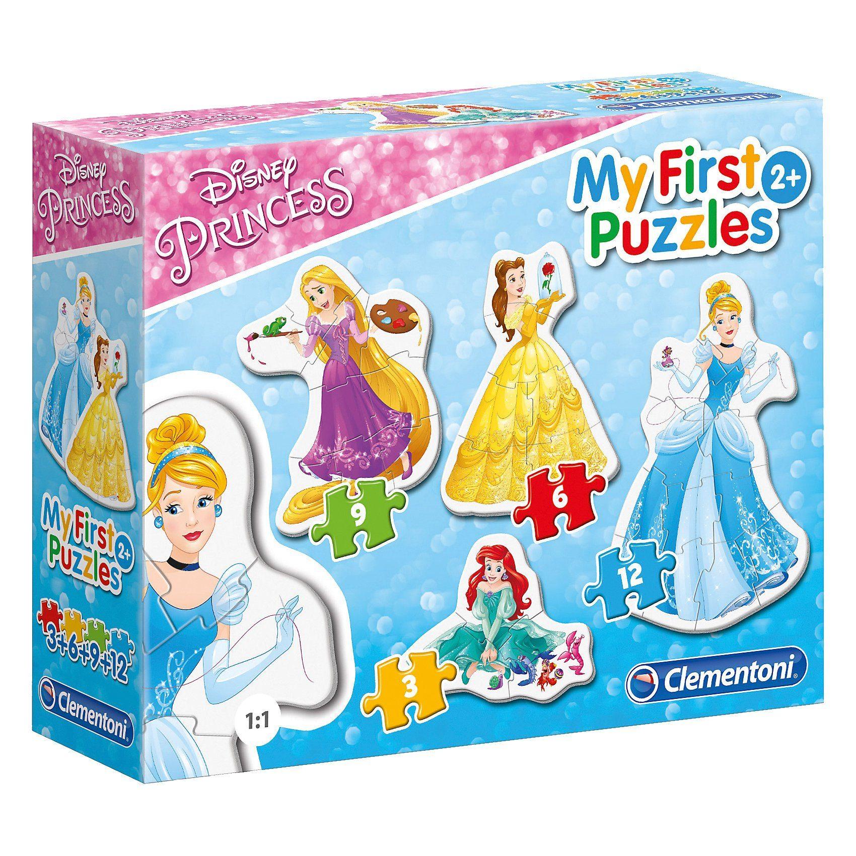 Clementoni® My first Puzzles - Disney Princess