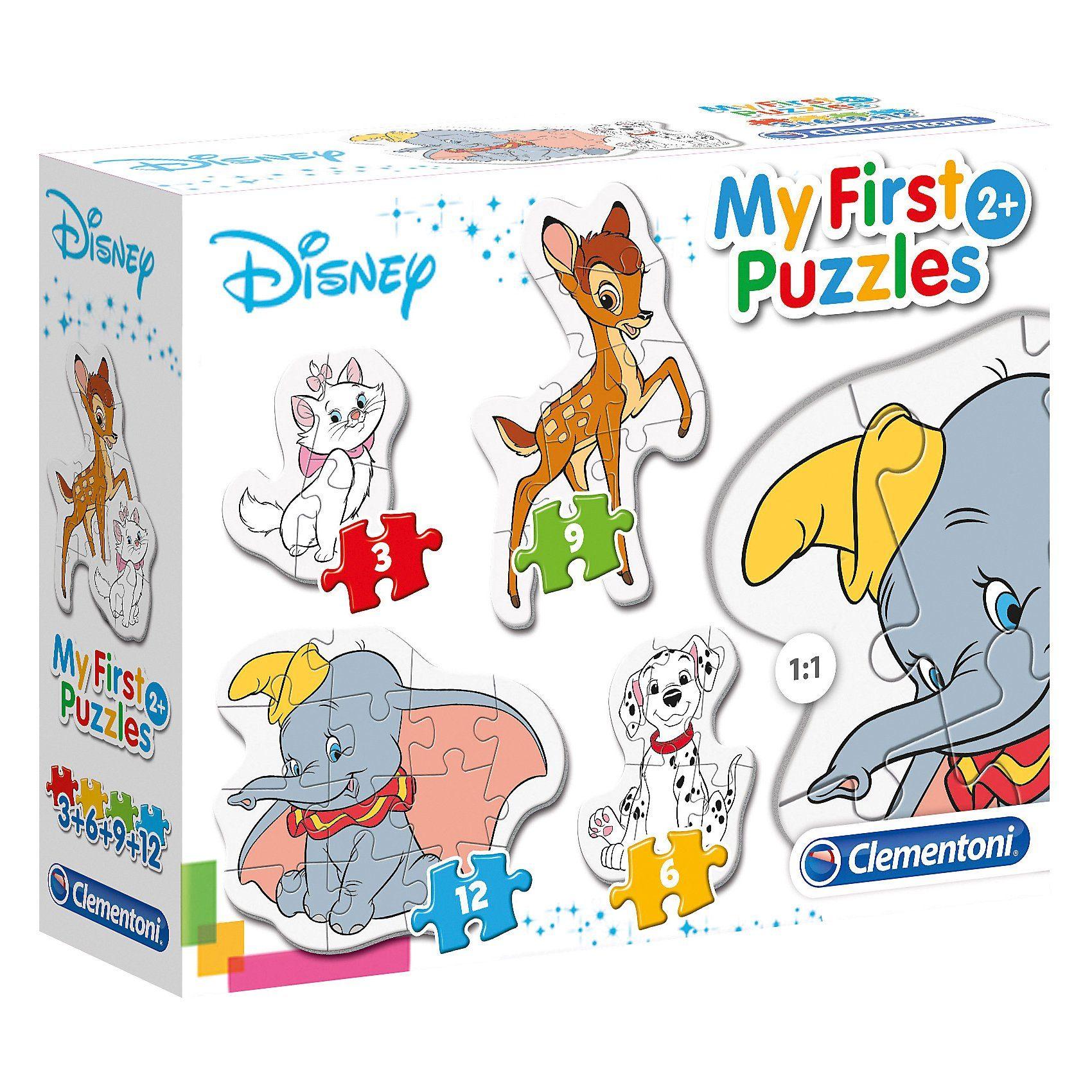 Clementoni® My first Puzzles - Tierische Freunde