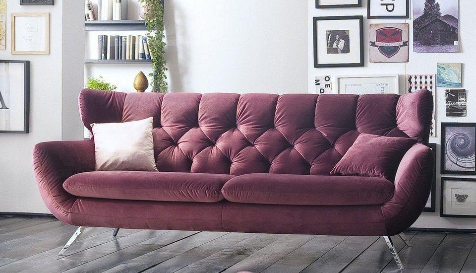 Kasper Wohndesign Sofa Stoff Versch Farben Charme Online Kaufen Otto