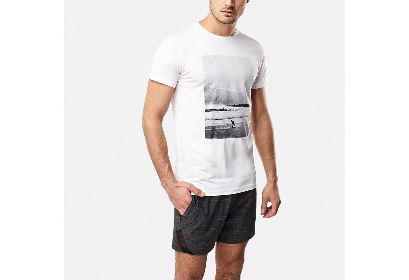 O´Neill T-Shirt »Half dome hybrid«