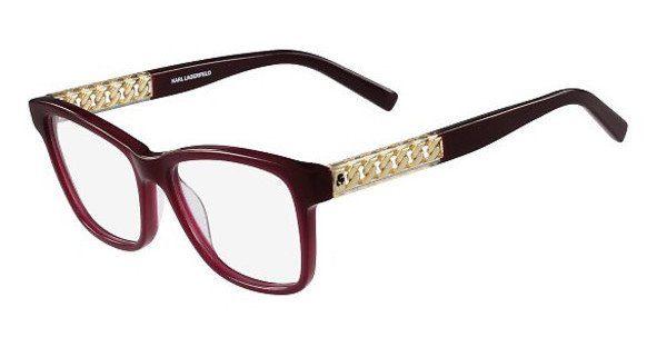 KARL LAGERFELD Damen Brille » KL920«, grau, 058 - grau