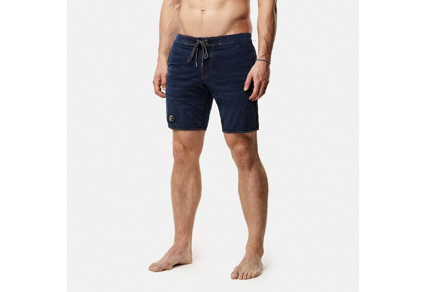 Herren O Neill Boardshorts The denim hybrid shorts blau | 08719403424109