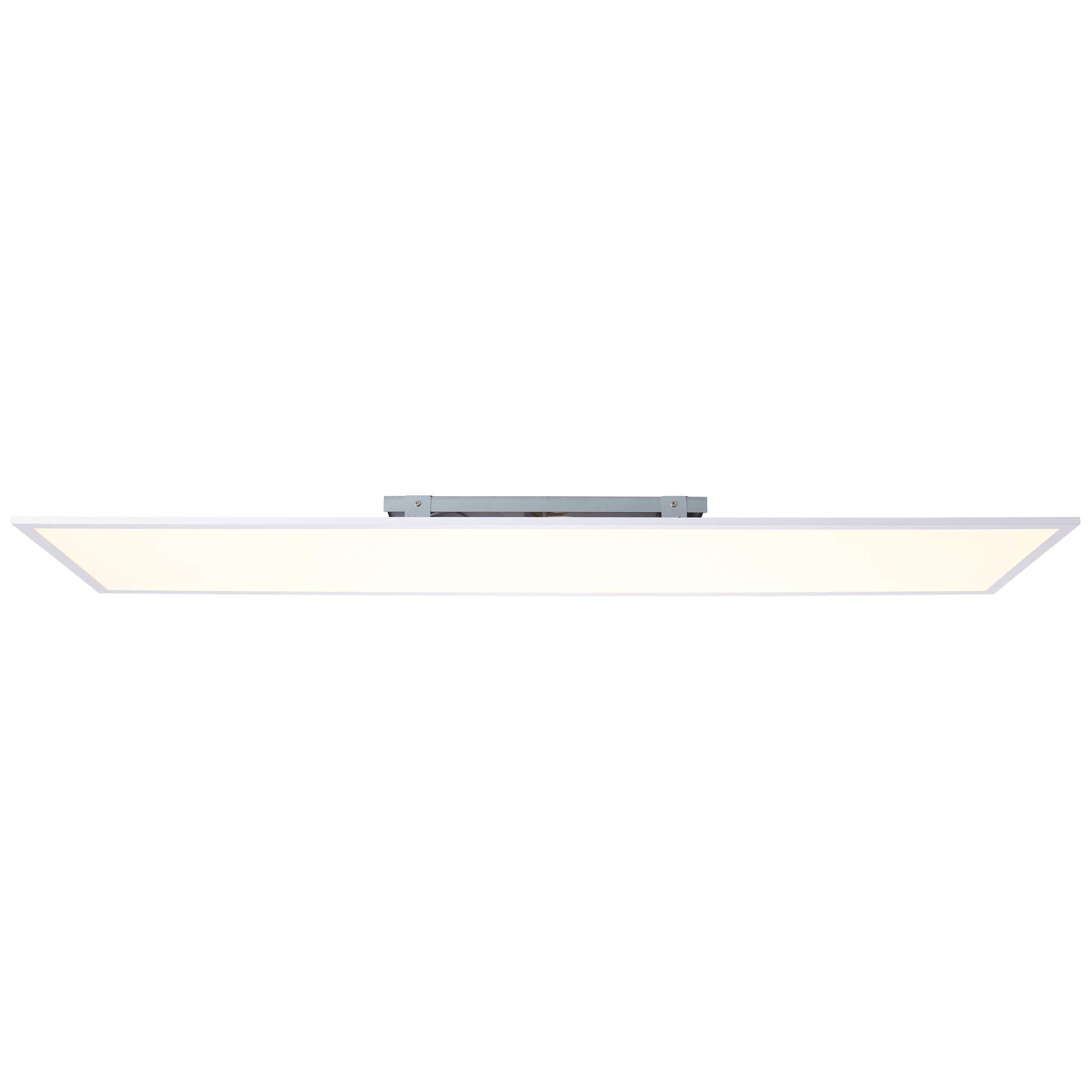 Brilliant Leuchten Charla LED Deckenaufbau-Paneel 120x30cm weiß