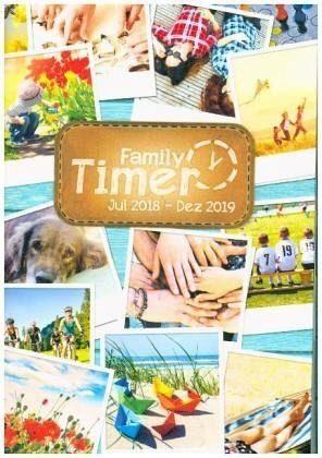 Kalender »Family-Timer A5 18 Monate 18/19 Leporello«