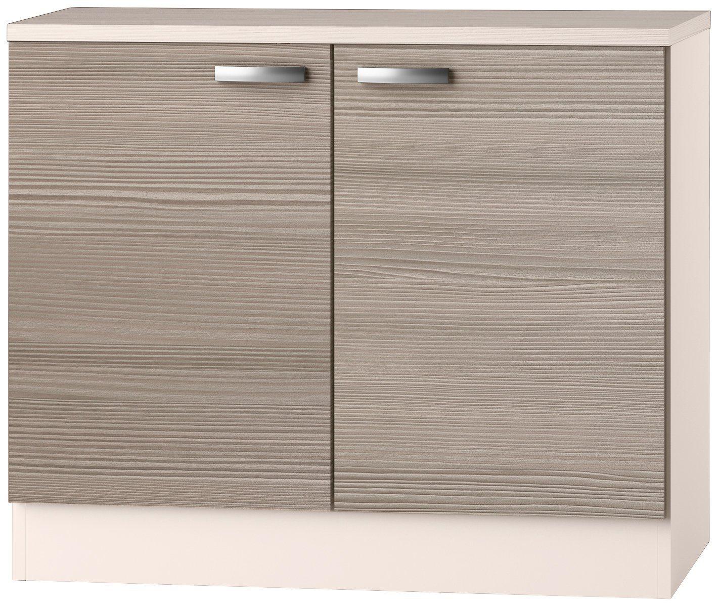 OPTIFIT Spülenschrank »Vigo«, Breite 100 cm | Küche und Esszimmer > Küchenschränke > Spülenschränke | Holzwerkstoff | OPTIFIT