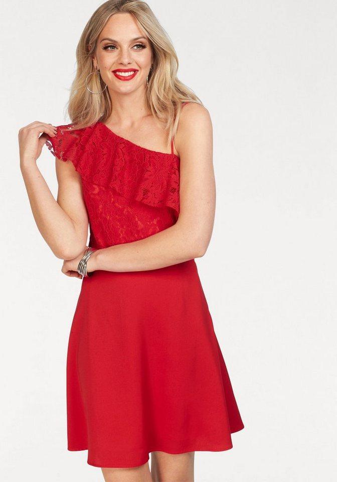 Only One-Shoulder-Kleid »DORY« | Bekleidung > Kleider > One Shoulder-Kleider | Rot | Only
