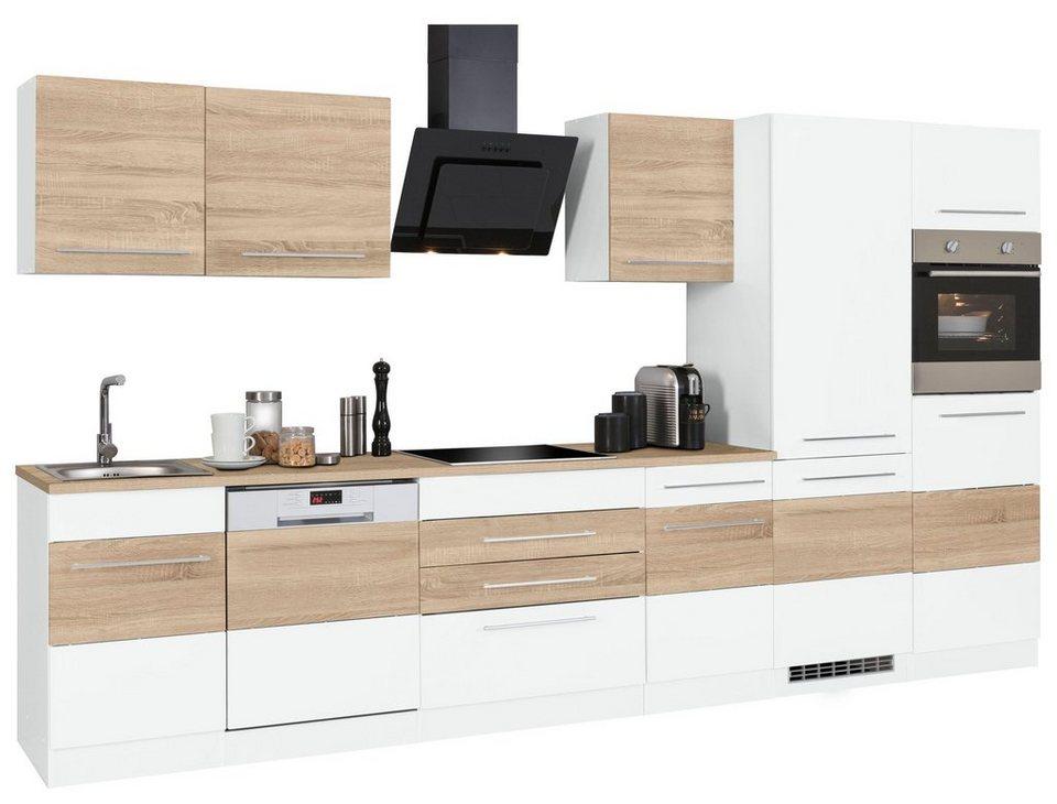 held m bel k chenzeile ohne e ger te trient breite 360 cm online kaufen otto. Black Bedroom Furniture Sets. Home Design Ideas