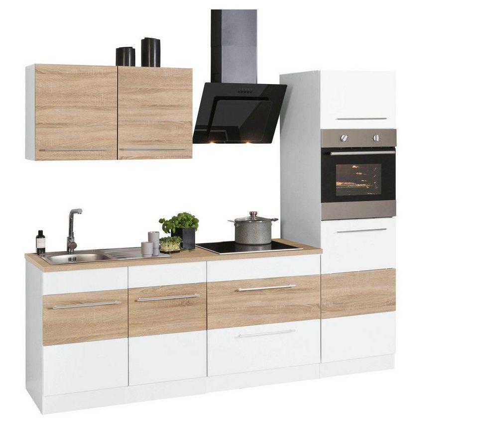 Ungewöhnlich Küchenzeile 240 Cm Mit Geräten Galerie - Die ...