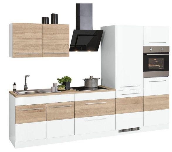 HELD MÖBEL Küchenzeile »Trient«, mit E-Geräten, Breite 300 cm