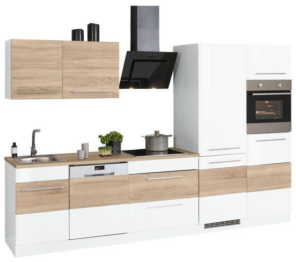 HELD MÖBEL Küchenzeile »Trient«, mit E-Geräten, Breite 310 cm