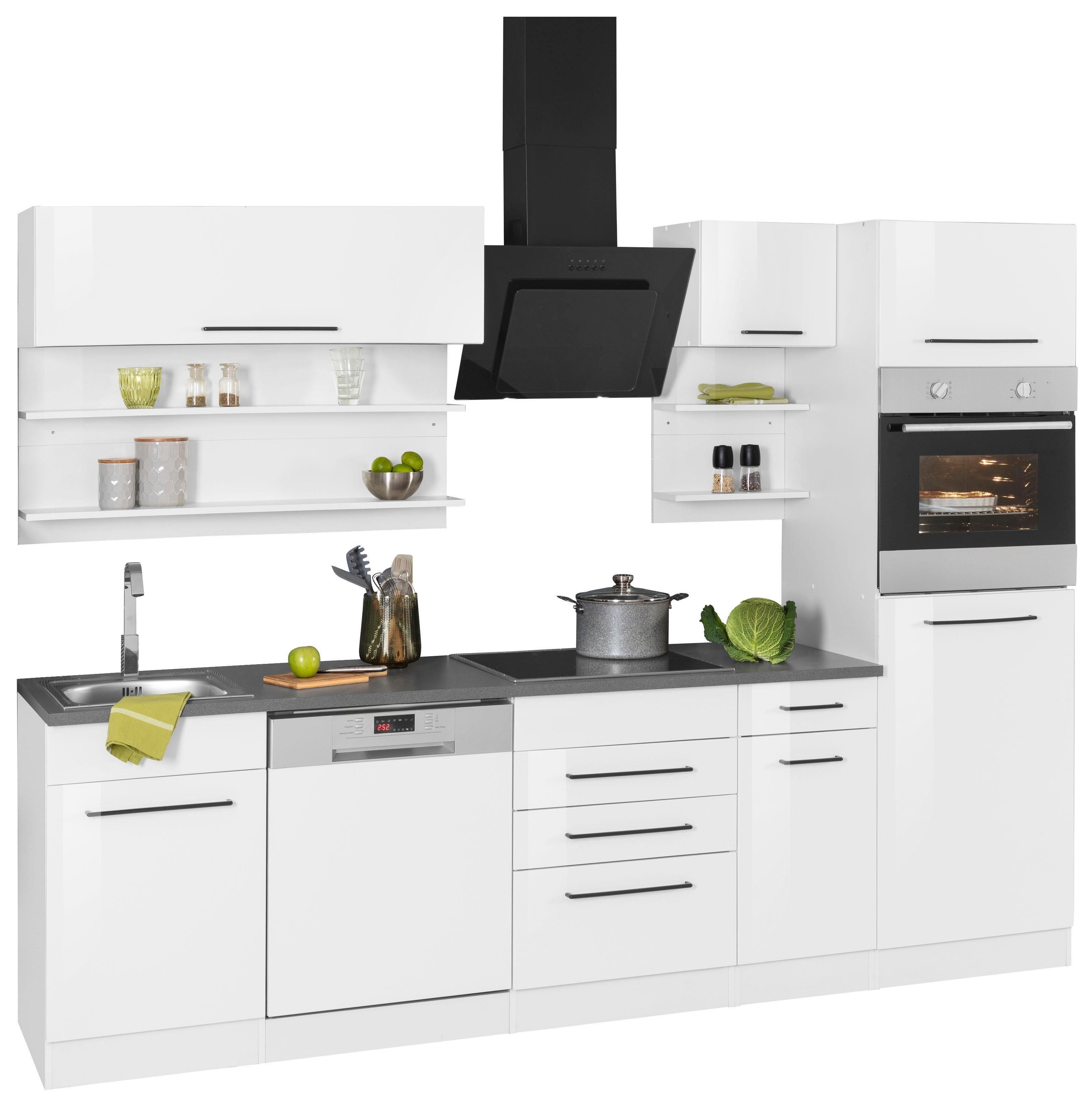 HELD MÖBEL Küchenzeile »Tulsa«, ohne E-Geräte, Breite 270 cm