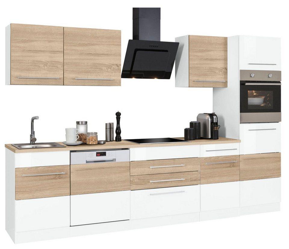 Held Möbel Küchenzeile Mit E Geräten Trient Breite 300 Cm Online