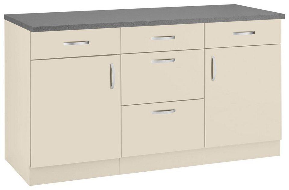 wiho Küchen Unterschrank »Amrum« 150 cm breit | OTTO
