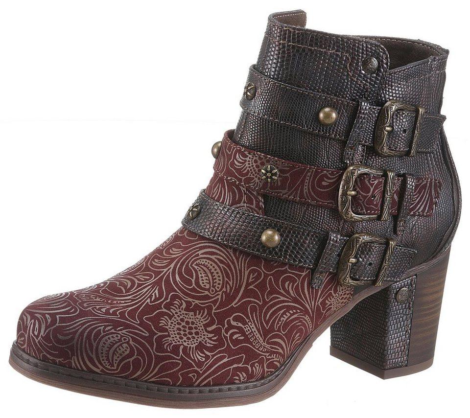 Mustang Shoes Stiefelette mit modischem Fantasydruck online kaufen ... 86766e5d3c