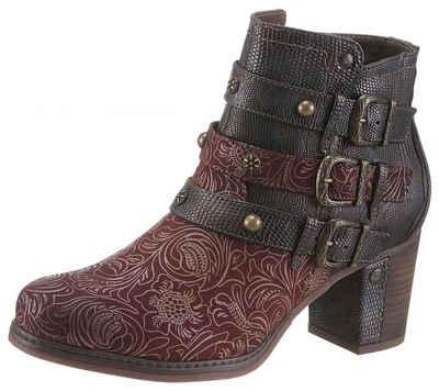 Mustang Shoes Stiefelette mit modischem Fantasydruck 3970fc7c22