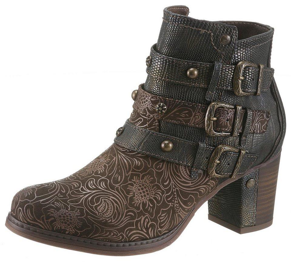 2c05ce44bfe9d0 Mustang Shoes Stiefelette mit modischem Fantasydruck online kaufen ...