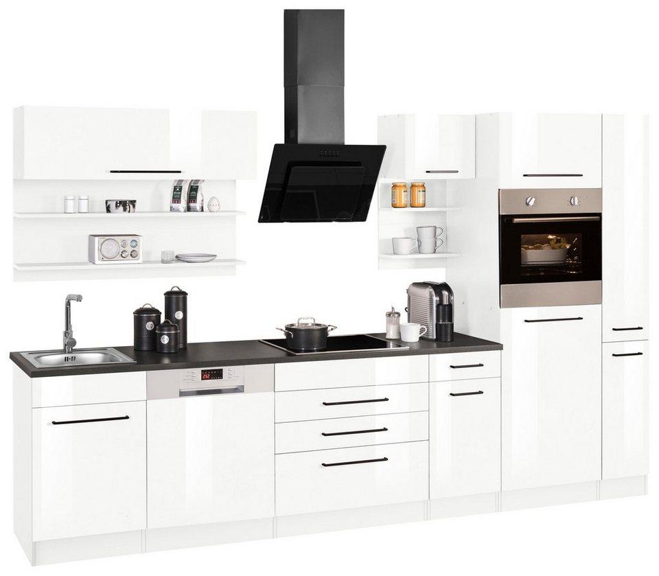 Küchenzeile 320 Cm : held m bel k chenzeile ohne e ger te tulsa breite 320 cm online kaufen otto ~ Avissmed.com Haus und Dekorationen