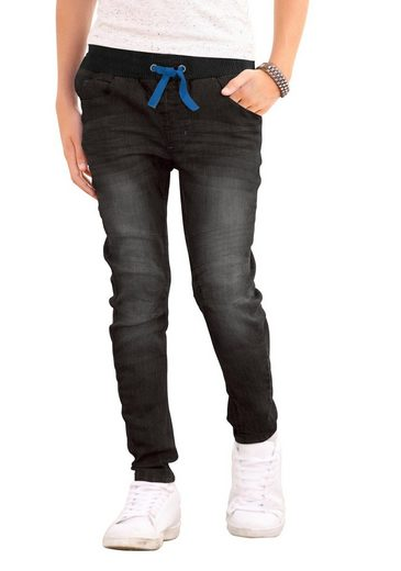 Chiemsee Schlupfjeans im O-shape Style mit gesteppten Knieeinsätzen
