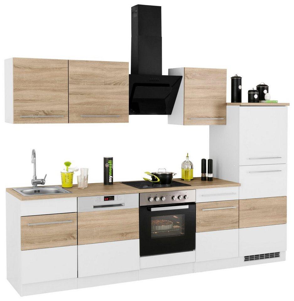 held m bel k chenzeile ohne e ger te trient breite 280 cm online kaufen otto. Black Bedroom Furniture Sets. Home Design Ideas