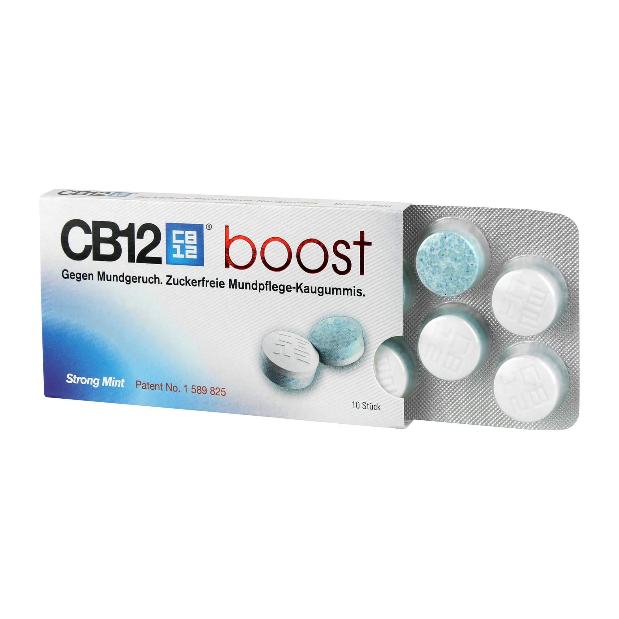 CB12 Boost Kaugummi (, 10 St)
