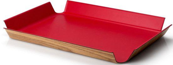 Continenta Tablett, Holz, (1-tlg)