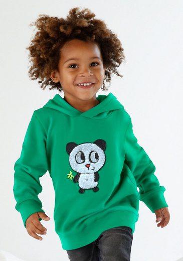 Arizona Kapuzensweatshirt »PANDA« Applikation