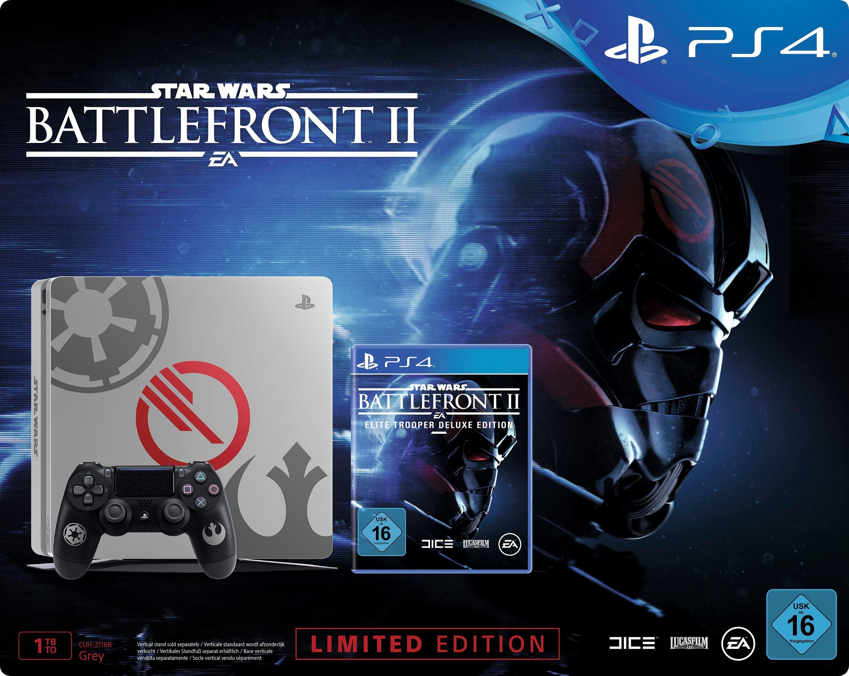 Slim 1TB (Konsolen-Bundle, inkl. Star Wars Battlefront: Elite Trooper Deluxe Edition), im Star Wars Battlefront Design