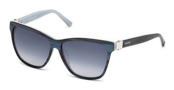 Swarovski Damen Sonnenbrille » SK0121«, lila, 83W - lila/blau