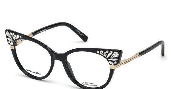 Dsquared2 Damen Brille » DQ5253«, schwarz, 001 - schwarz