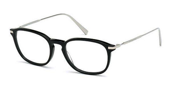 Ermenegildo Zegna Herren Brille » EZ5028«, schwarz, 001 - schwarz