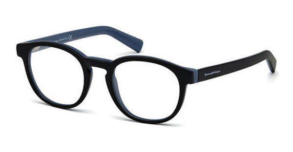 Ermenegildo Zegna Herren Brille » EZ5104«, schwarz, 005 - schwarz