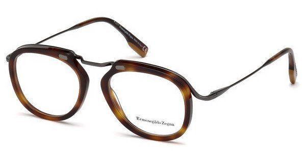 Ermenegildo Zegna Herren Brille » EZ5124«, braun, 052 - braun